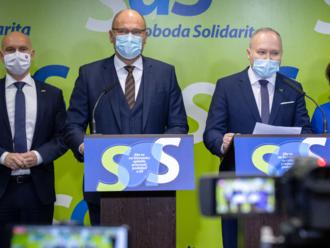 SaS zostáva vo vláde, no Matovič už prekračuje hranice, vyhlásilo vedenie koaličnej strany