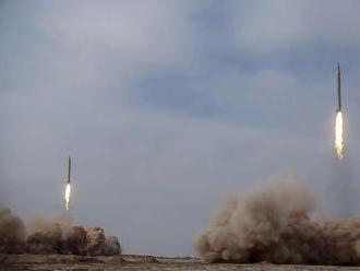 Irán otestoval balistické rakety