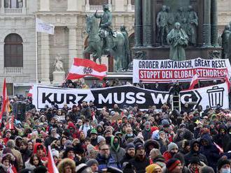 ONLINE: Rakúsko sprísni a predĺži lockdown, obáva sa mutácie