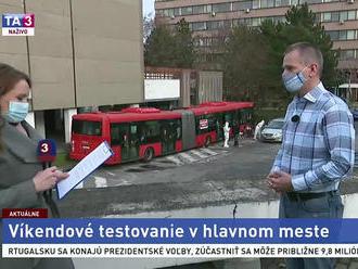 Starosta Ružinova M. Chren o víkendovom testovaní v Bratislave