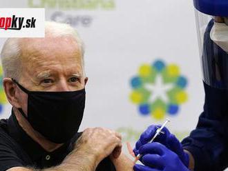 KORONAVÍRUS Joe Biden chce využiť zákon o obrannej výrobe na zvýšenie výroby vakcín
