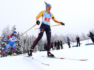 Slovenským biatlonistkám sa v Taliansku nedarilo. V štafete ich ako 19. v poradí stiahli z trate
