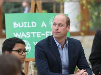Princ William: Záchrana planéty je dôležitejšia než lety do vesmíru