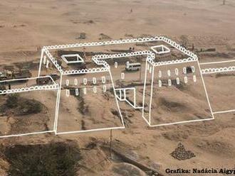 Slovenskí egyptológovia objavili dve pevnostné hradby pevnosti Ramessa III.