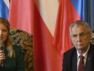 Prezidentka Čaputová zaslala Zemanovi osobný list: Úprimné želanie