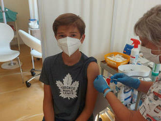 Od stredy je možné prihlásiť na očkovanie proti COVID-19 deti od 5 do 11 rokov