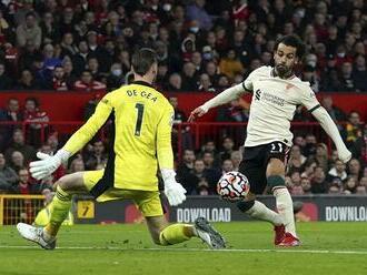 Liverpool deklasoval United 5:0, Salah potvrdil famóznu formu hetrikom