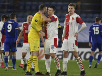 Slavii po vyřazení Leicesteru čeká v lize rozjeté Slovácko