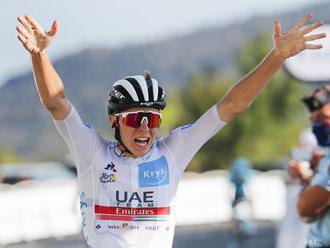 Pogačar zvíťazil v 3. etape Okolo SAE a je na čele celkového poradia