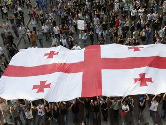 V Gruzínsku rastie napätie. Meliovo zadržanie odsúdili NATO i USA