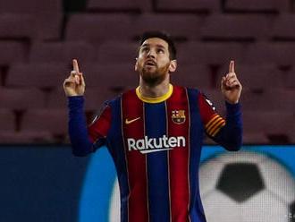 Barcelona je už tretia, Messi vedie tabuľku kanonierov