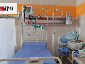 KORONAVÍRUS V nemocnici v Martine je hospitalizovaných 83 pozitívnych pacientov