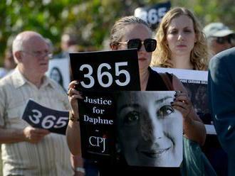 Zlom v prípade vraždy maltskej novinárky: Jeden z obvinených priznal svoju vinu