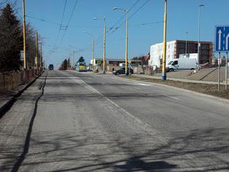 Mesto Košice začne s rekonštrukciou cesty na ulici Jána Pavla II za viac ako 700-tisíc eur