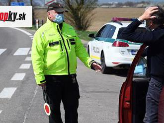 Slováci pozor! Vláda potichu zmenila toto pravidlo, táto výhovorka pre policajtov už nebude platiť
