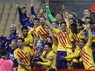 Barcelona získala Španělský pohár a má první trofej od května 2019