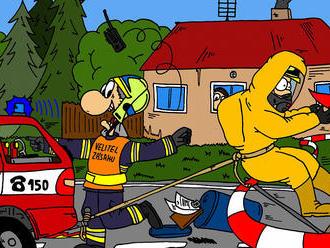 Bojový řád 4/L: Jištění hasičů při činnosti vnebezpečnézóně