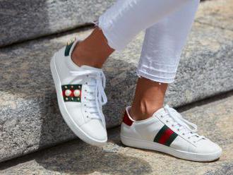 Gucci nabízí virtuální módu – jako první představuje tenisky dostupné pro každého