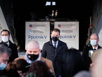Sputnik V leží už měsíc ve slovenských skladech. Matovič mluví o