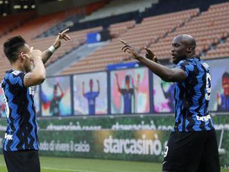 Inter vyhral desiaty zápas Serie A za sebou,ligu vedie o 11 bodov