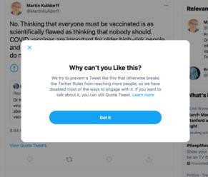 Zle je. Profesor epidemiológie z Harvardu cenzurovaný na Twitteri pre vyhlásenie, že deti a tí, čo p