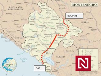 Zoberú im prístav? Čierna Hora nevládze platiť Číne za diaľnicu, prosí o pomoc EÚ