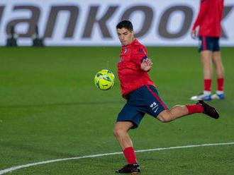 Veľká rana pre Atlético. Najbližšie zápasy odohrá bez Suáreza