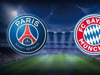 ONLINE: Paríž St. Germain - Bayern Mníchov