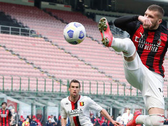 Zachránil ich vlastný gól. AC Miláno znížilo stratu na Inter