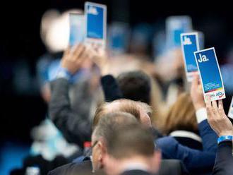 Krajne pravicová AfD schválila volebný program. Prvýkrát i s výzvou na odchod z EÚ