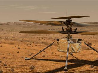 NASA: Vrtuľník Ingenuity na Marse vzlietne pravdepodobne v pondelok