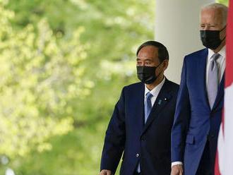 Japonský premiér sa stretol s Bidenom. Hlavnou témou bola Čína