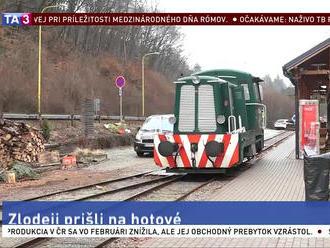 Zlodeji kradli na trati Detskej železničky. Zneužili prácu dobrovoľníkov