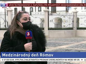 Prezidentka prijala v paláci Rómov z prvej línie. S čím sa museli popasovať