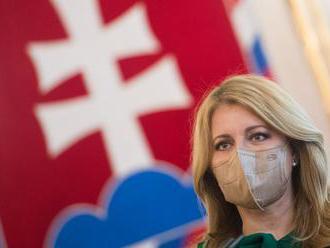 Prezidentka kritizovala Matovičove slová na sociálnych sieťach, stretne sa s Hegerom