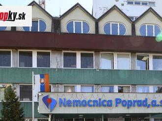 KORONAVÍRUS Nemocnica Poprad eviduje pokles pacientov, ktorí sú na umelej pľúcnej ventilácii
