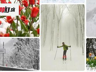 Bláznivé aprílové počasie bude pokračovať: VIDEO Meteorológ však upozornil na väčší problém