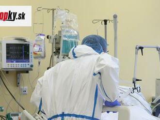 Umelú pľúcnu ventiláciu potrebuje na Zemplíne 12 pacientov s KORONAVÍRUSOM