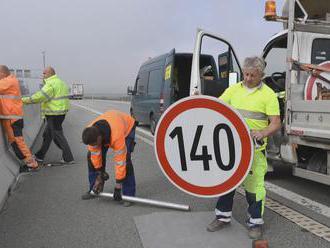 Ministerstvo dopravy testovalo rýchlosť 140 km/h na diaľnici. Výsledok vodičov nepoteší