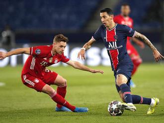 Futbalisti Paríža St. Germain napriek domácej prehre s Bayernom postúpil do semifinále