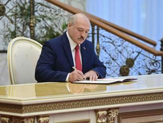 Lukašenko podpísal dekrét o prenesení právomoci na Radu bezpečnosti
