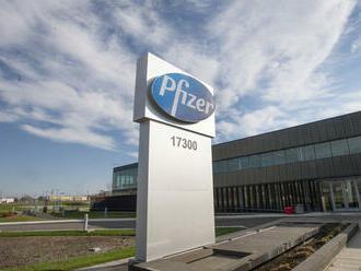 Pfizer za prvý štvrťrok vykázal zisk 4,88 miliardy dolárov