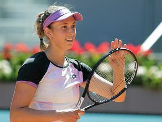 Pavľučenkovová postúpila do štvrťfinále turnaja WTA v Madride