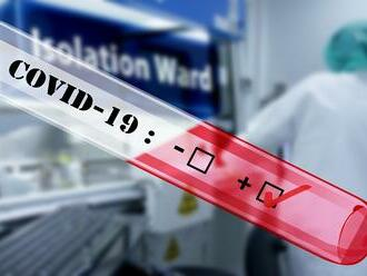 PCR testy odhalili v sobotu len 80 nových pozitívnych