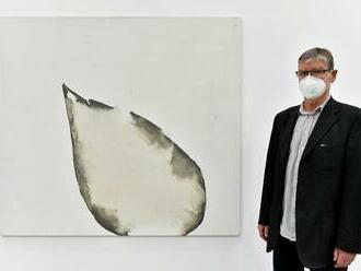 Nůž v kredenci. Fait Gallery vystavuje díla Veselého, který zkoumá hranice malby