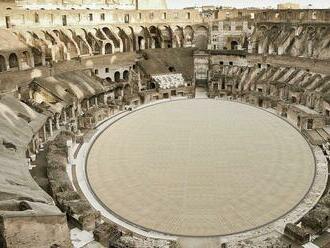 Koloseum bude mať podlahu, turisti ho uvidia z perspektívy gladiátorov