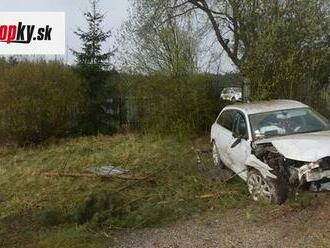 Opitý vodič precenil svoje schopnosti: FOTO Autom prerazil oplotenie a skončil v nemocnici