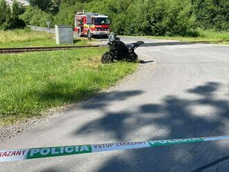 DOPLNENÉ: Pri Revúcej došlo k smrteľnej nehode, nákladné auto sa zrazilo s motocyklistom