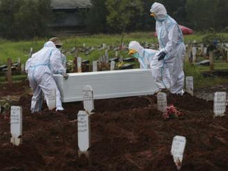 Počet obětí covidu celosvětově překročil čtyři miliony, uvádí Reuters