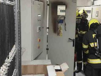 Na základě ohlášení EPS vyjížděli hasiči do průmyslového areálu vMohelnici, zahořel elektrický…